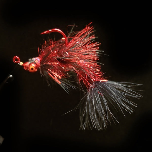 Smoke & Mirrors Jig Fly - Black Death