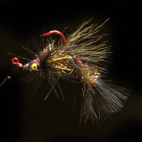 Smoke & Mirrors Jig Fly - Dirty Black