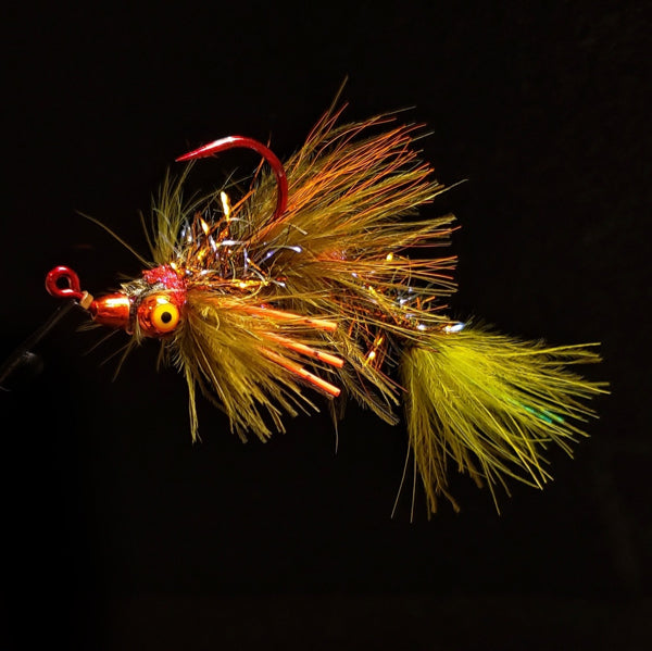 Smoke & Mirrors Jig Fly - Roasted Fire Tiger