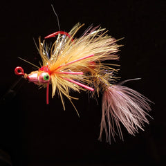 Smoke & Mirrors Jig Fly - Pink Panther