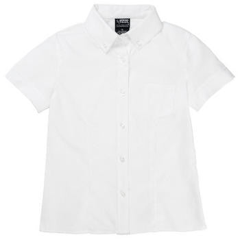 French Toast Girls Button Down Oxford Blouse S/S - Kids Palace
