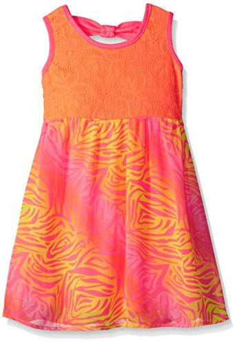 Limited Too Chiffon Dress with Zebra Print Skirt