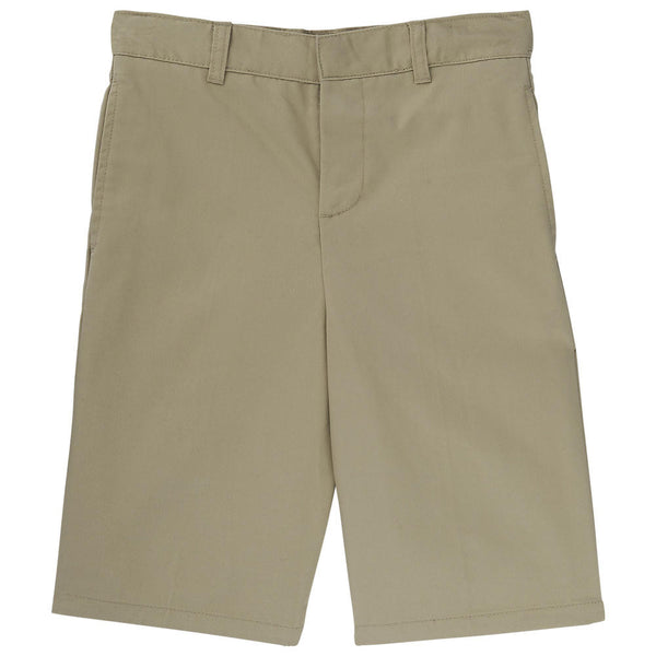 Boys Adjustable Waist Uniform Shorts (4-7)