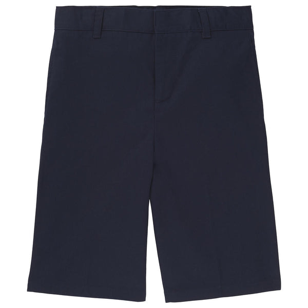 Navy Boys Adjustable Waist Uniform Shorts