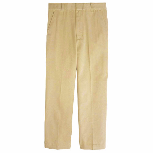 Khaki Boys Adjustable Waist Uniform Pants