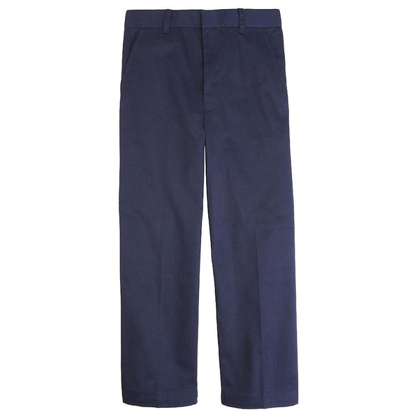 Navy Boys Adjustable Waist Uniform Pants