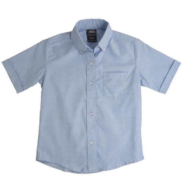 Light Blue Boys Oxford Shirt