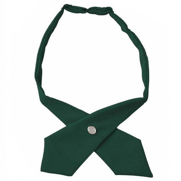 Hunter Green Adjustable Cross Tie