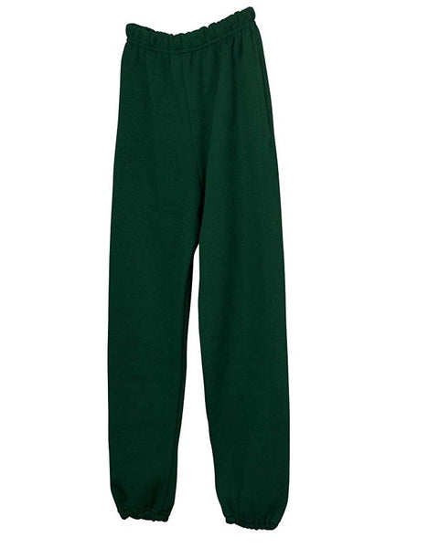 Hunter Green Sweatpants w/ Logo