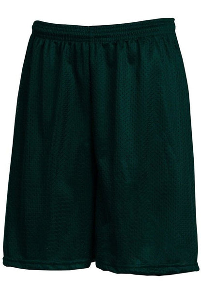 Hunter Green Mesh Gym Shorts w/ Logo