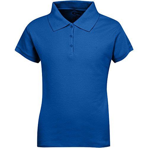 Girls Pique Polo (Adult S-XL)