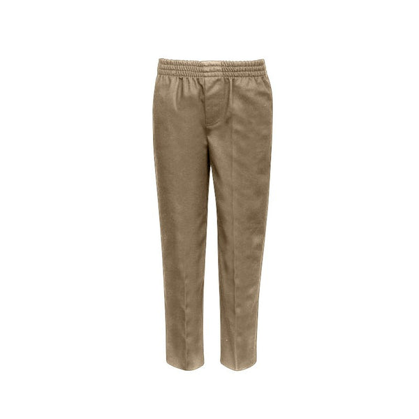 Khaki Boys Pull-On Uniform Pants