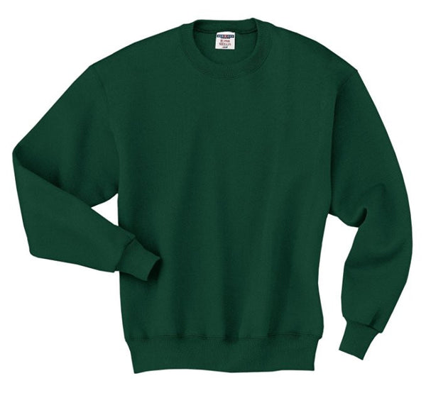 Hunter Green Gym Sweatshirt w/ Logo