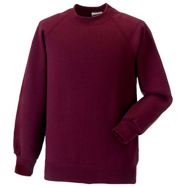 Burgundy Gym Sweatshirt w/ Logo