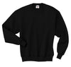 Black Crew Neck Sweatshirt w/ Logo (Unisex All Grades) - Kids Palace
