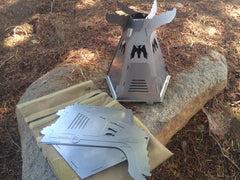 PHOENIX™ Wood-Burning Titanium Camp Stove