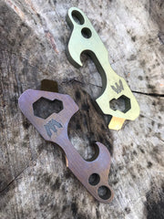 TTP-3 Titanium Bottle Opener Multi-Tool