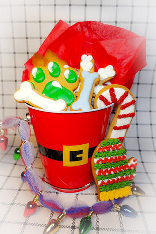 Holiday Biscuit Bucket