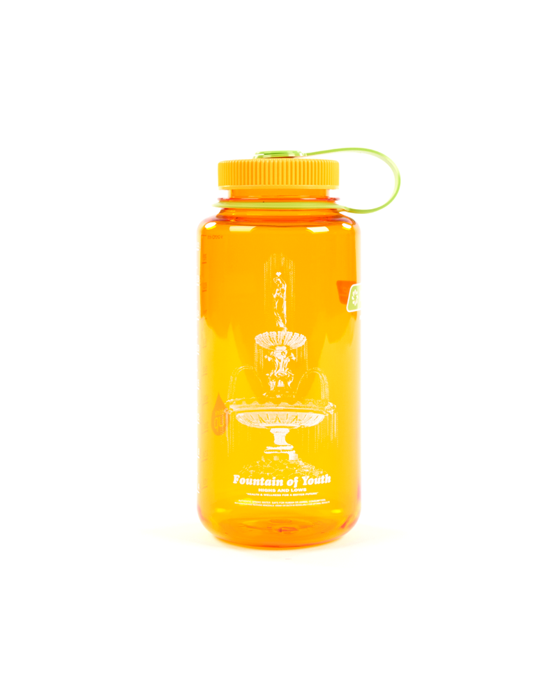 SS21 - NALGENE BOTTLE / WIDE MOUTH - CLEMENTINE