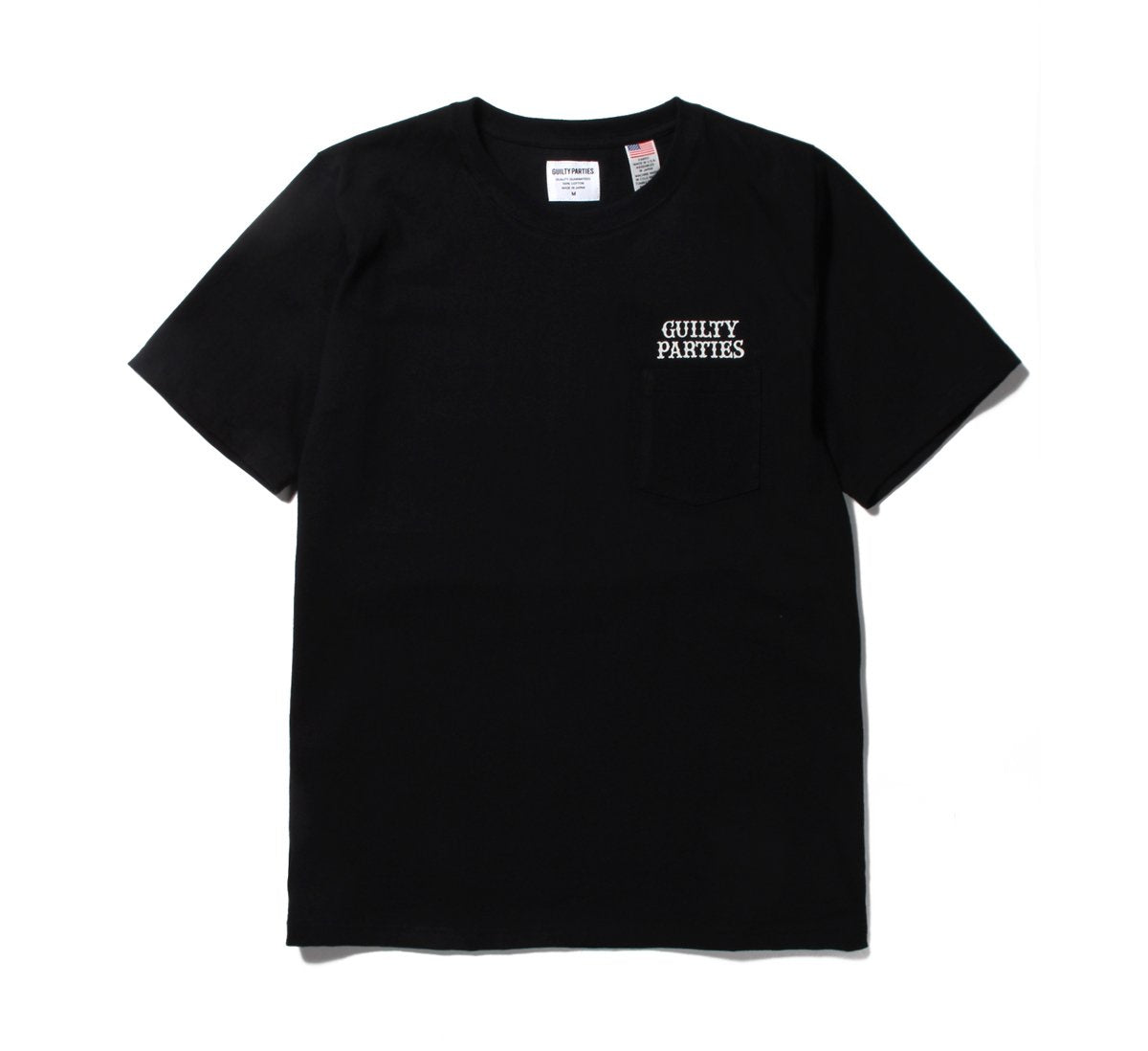 Wacko Maria Crew Neck Pocket T-shirt - Black