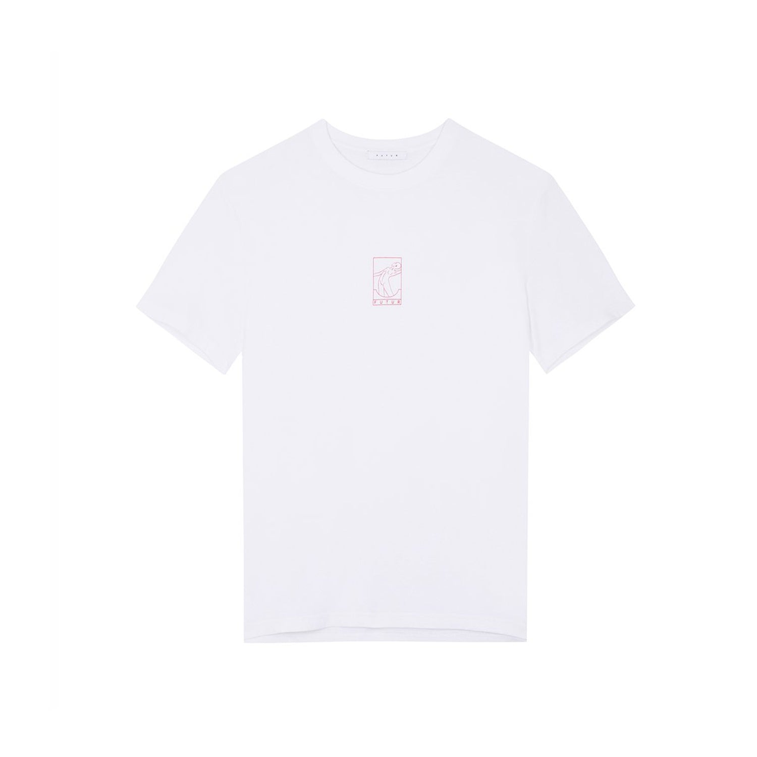 Futur Season 10 Outline Tee - White