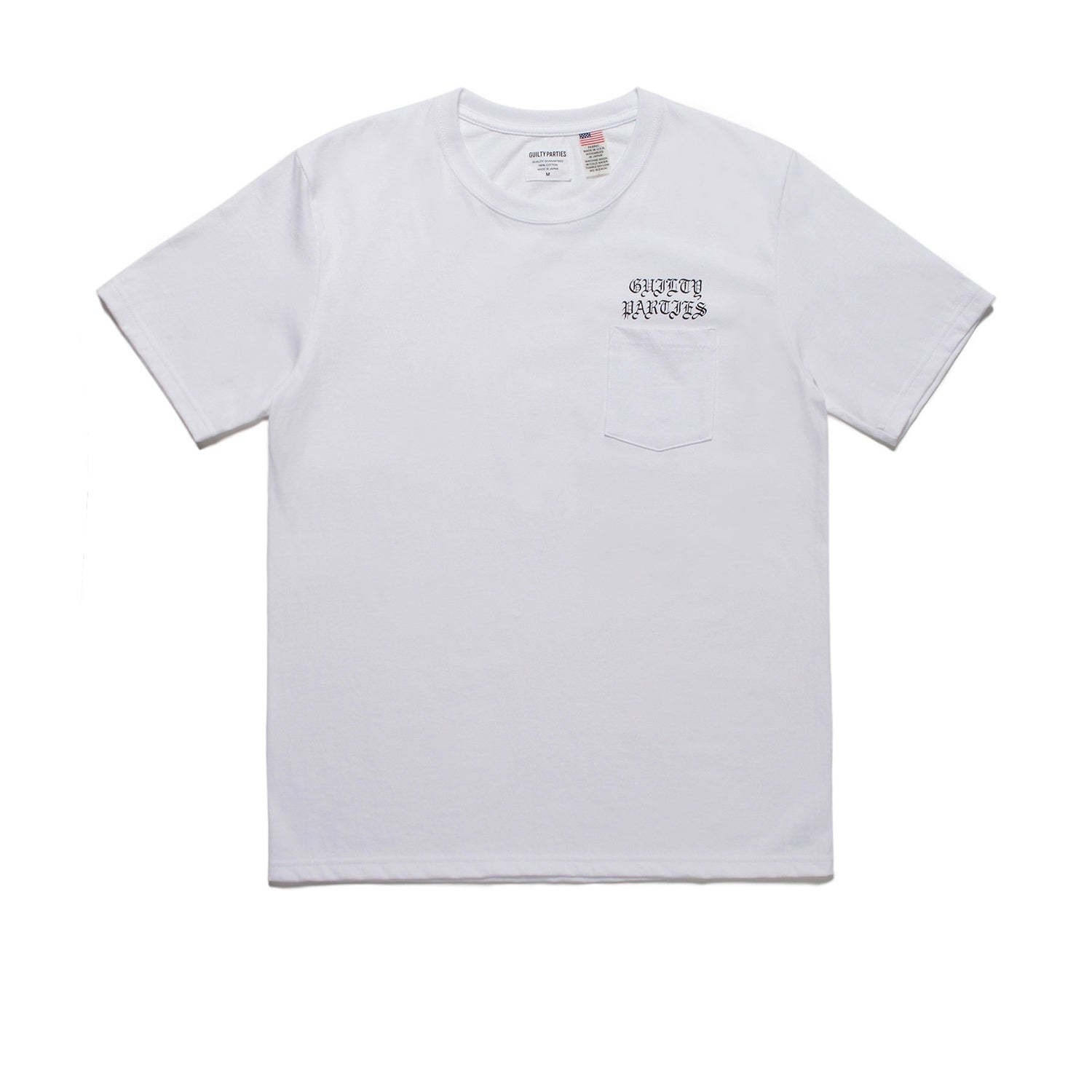 Wacko Maria Crew Neck Pocket T-shirt - White
