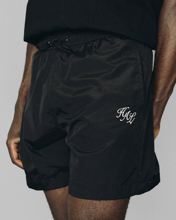 HAL SS20 Nylon Swim Short - Black