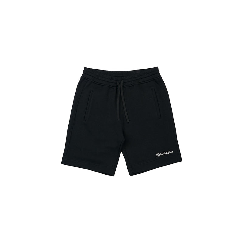 HAL SS20 French Terry Short - Black