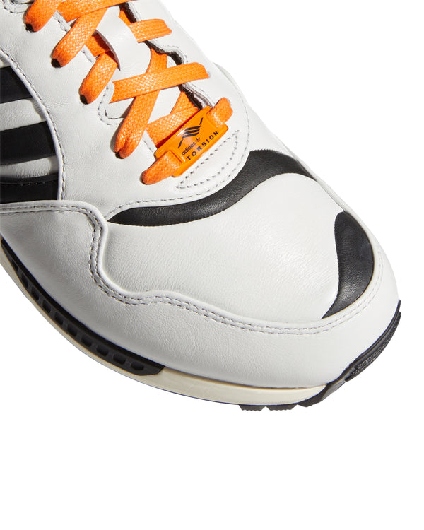 A-ZX:  JUVENTUS  ZX 6000 - CRYSTAL WHITE / CORE BLACK / BAHIA ORANGE