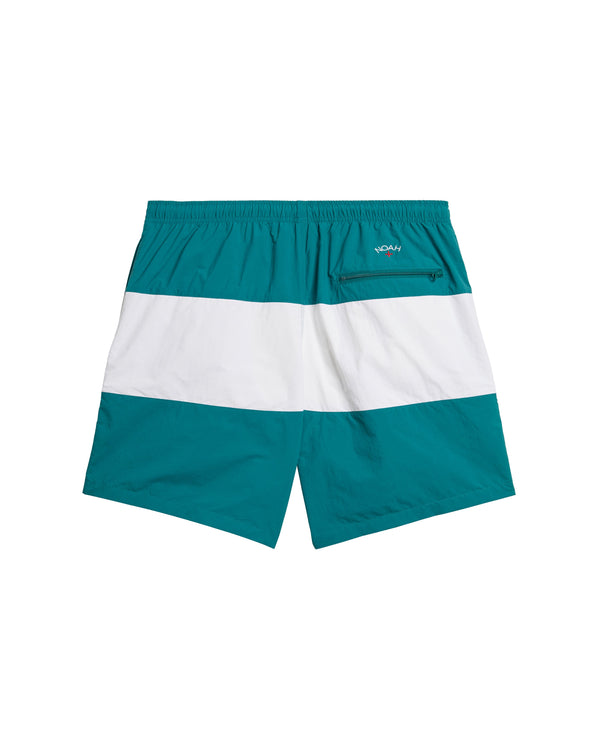 NOAH SHORTS - Green/White