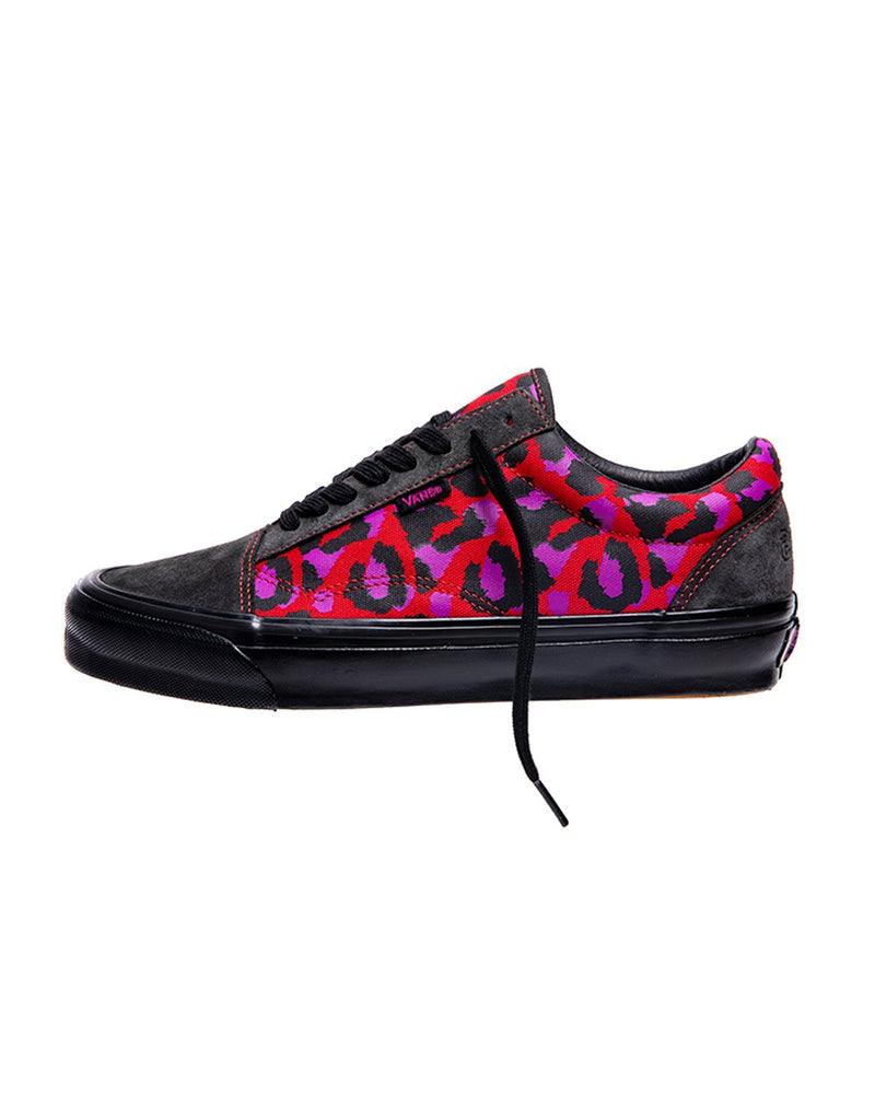 Stray Rats Old Skool OG LX - Raven/Racing Red
