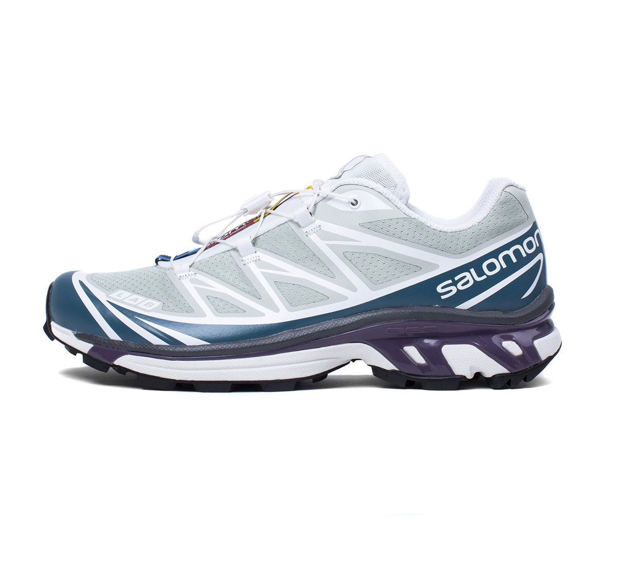 Salomon S/LAB XT-6 - MINERAL GRAY/MALLARD BLUE/WHITE