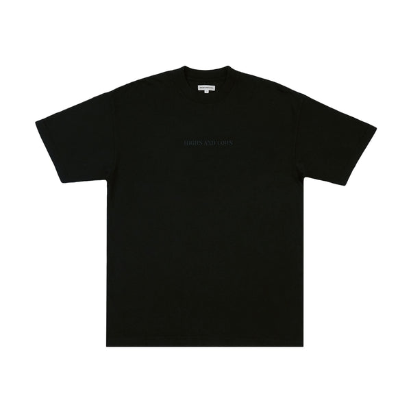 HAL SS20 Bar Logo T-Shirt - Black