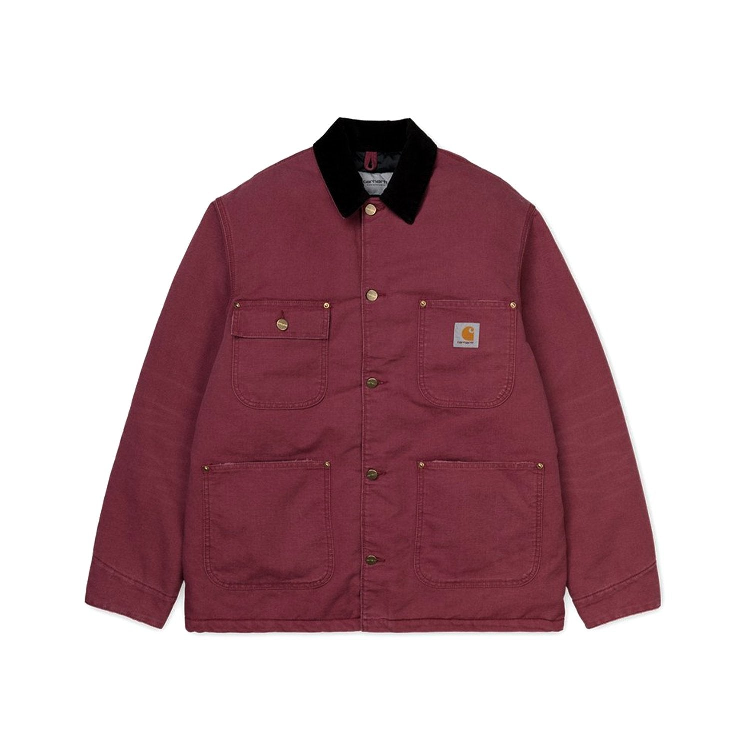 Carhartt WIP OG Detroit Jacket - Dusty Fuchsia/Black Age