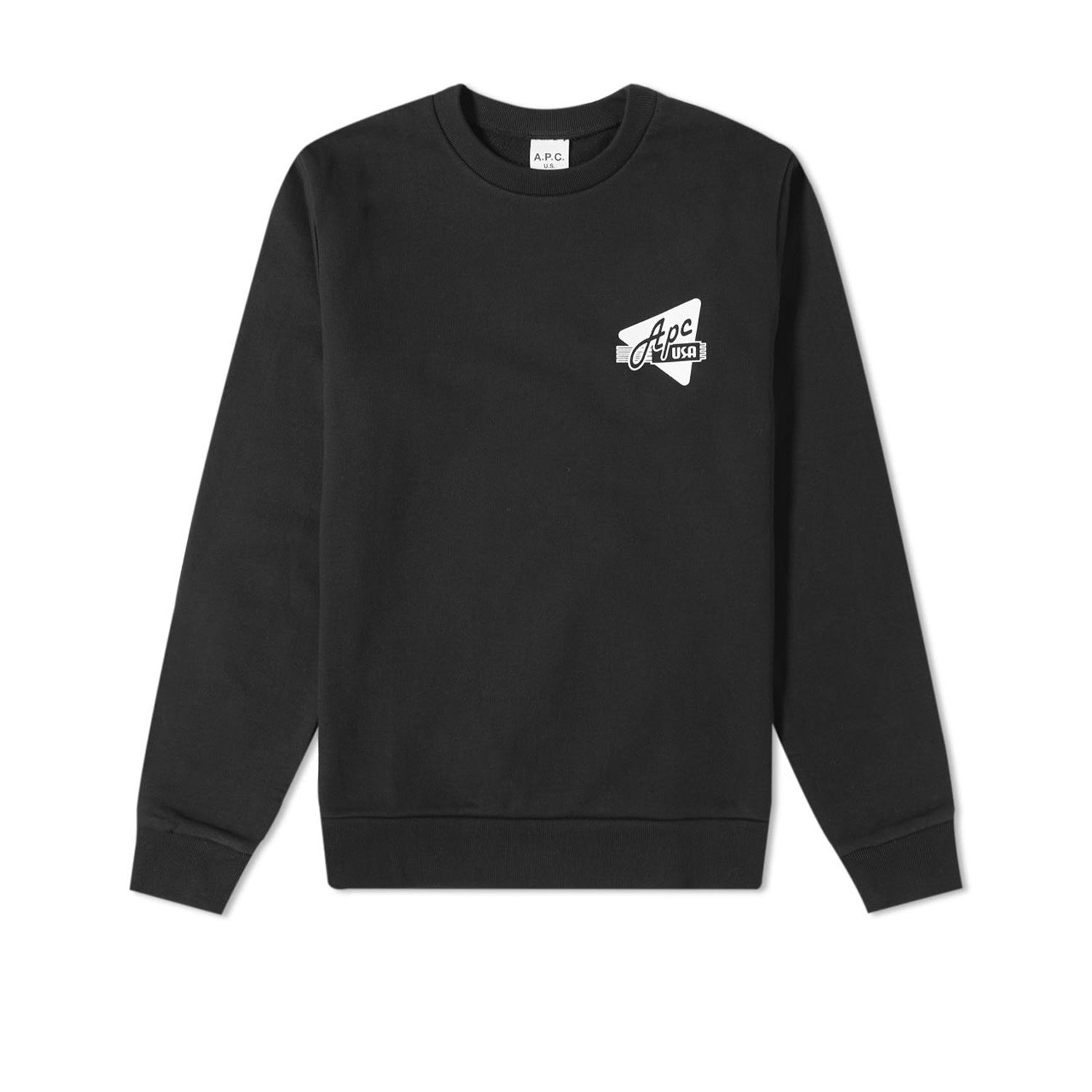 A.P.C. S20 Sweat Abe- Noir