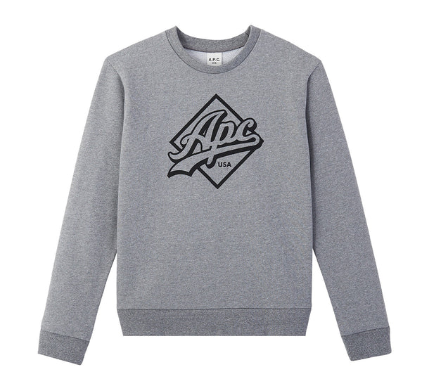 A.P.C. Sweatshirt Sherman USA - Grey