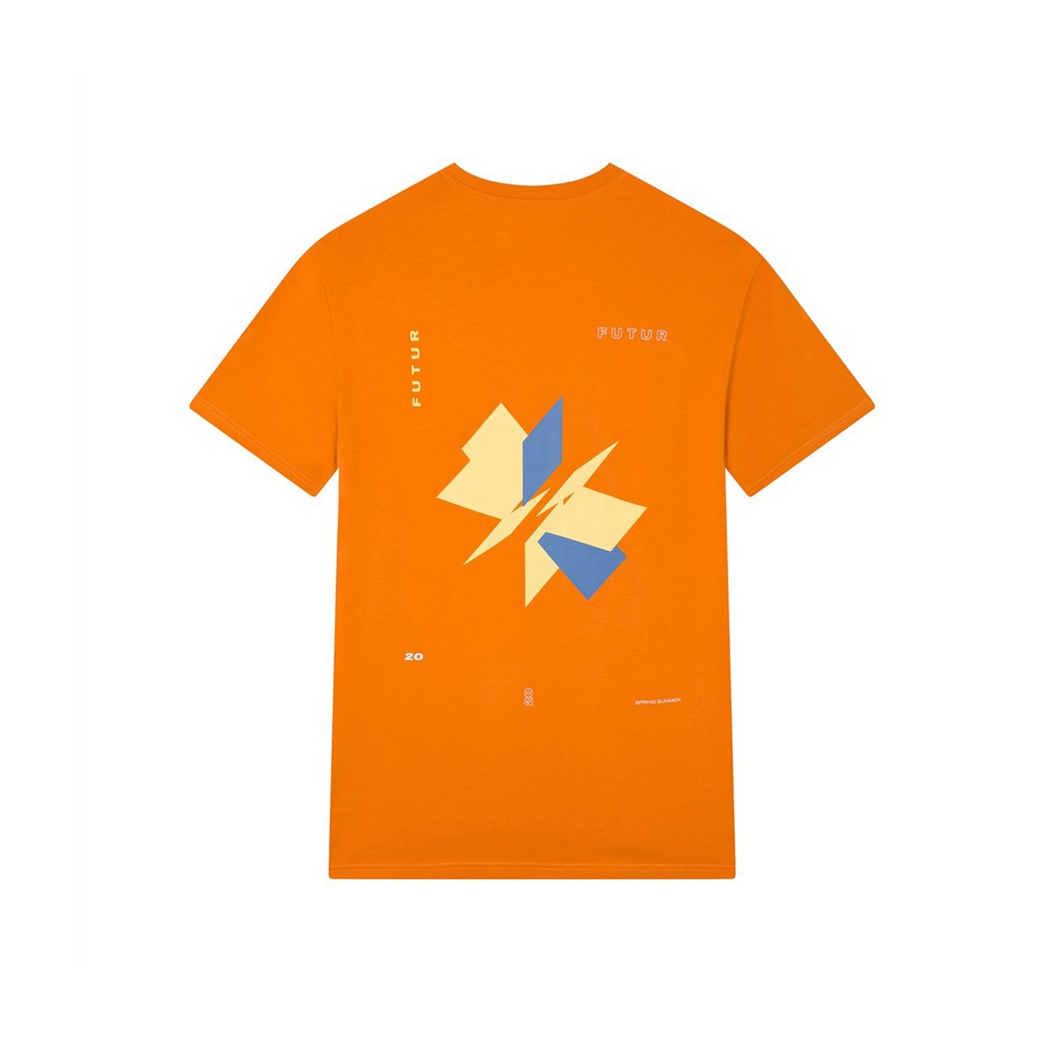 Futur Season 10 Dr Helix Tee - ORANGE