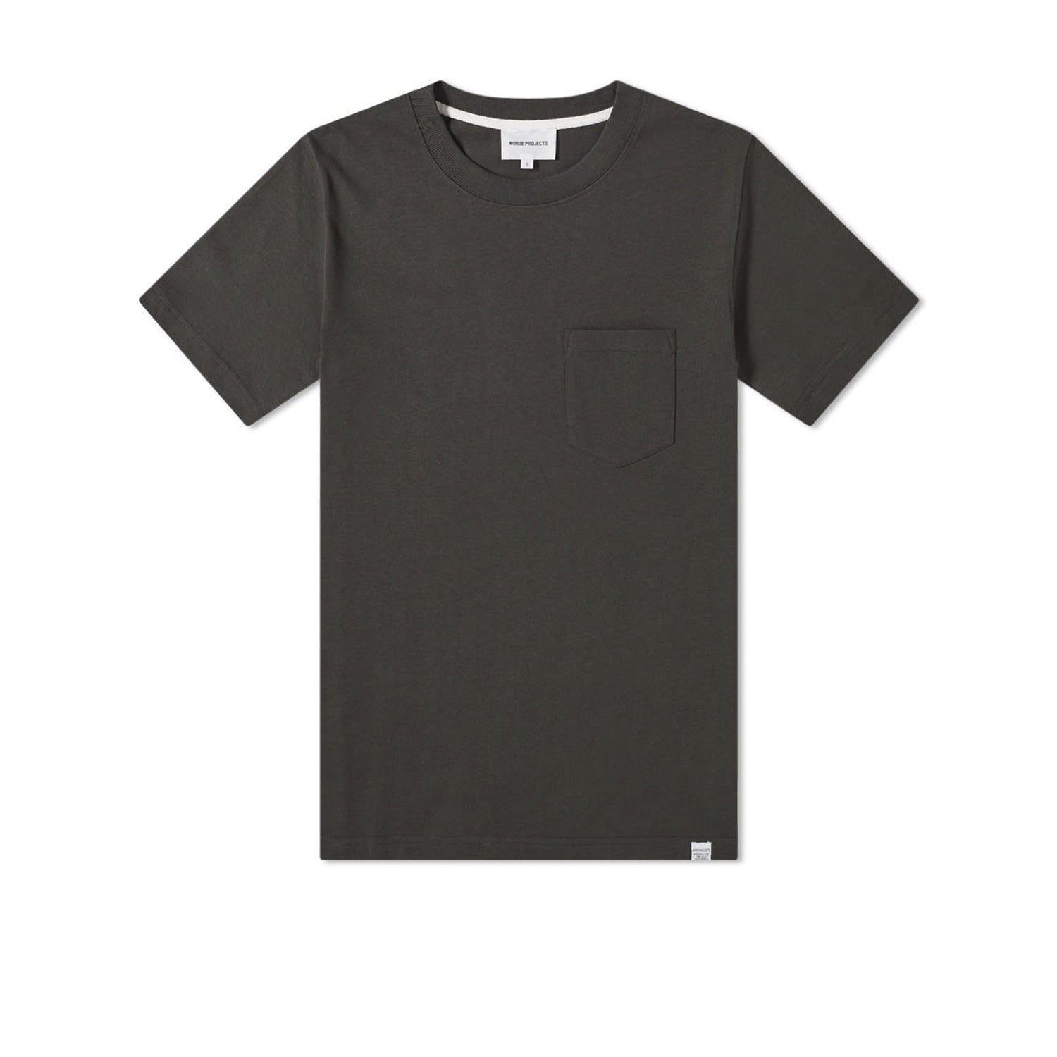 Norse Projects Johannes Pocket T-Shirt - Beech Green
