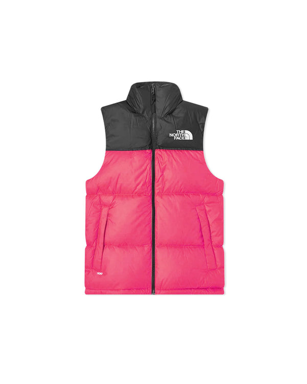 The North Face Nuptse Vest - Black/Pink