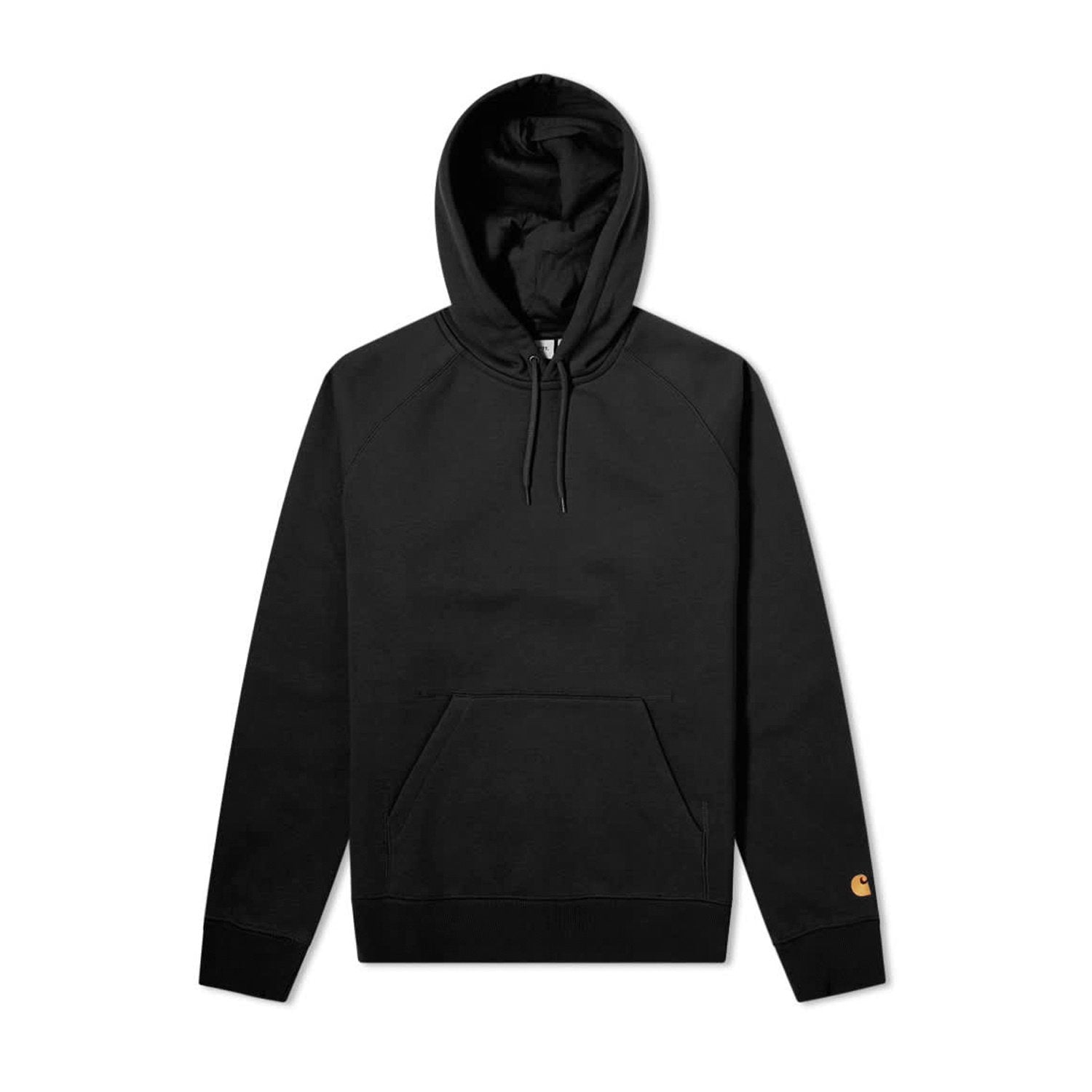 Carhartt WIP Hooded Chase Sweat - Black/Gold