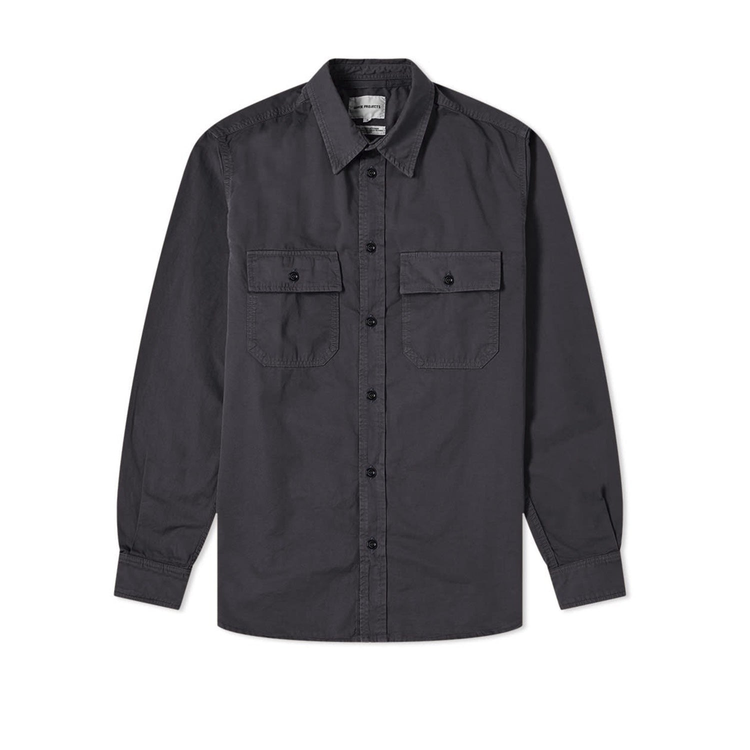 Norse Projects Villads Light Twill Shirt - Dark Navy