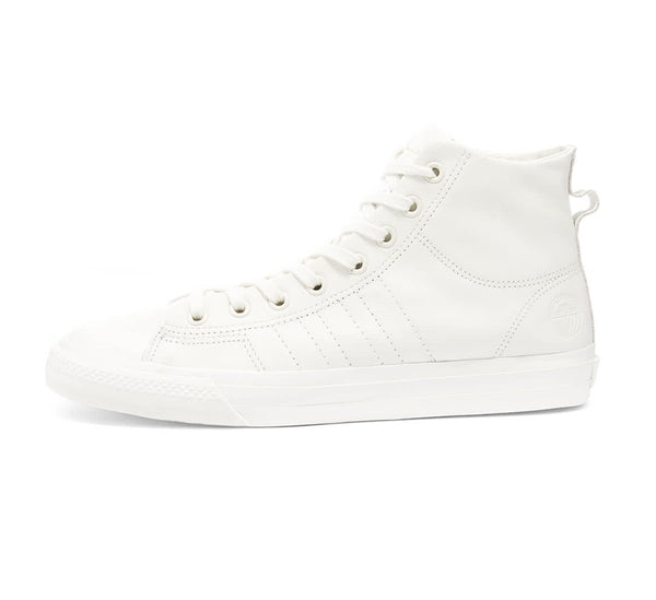 adidas Nizza HI RF - White Leather