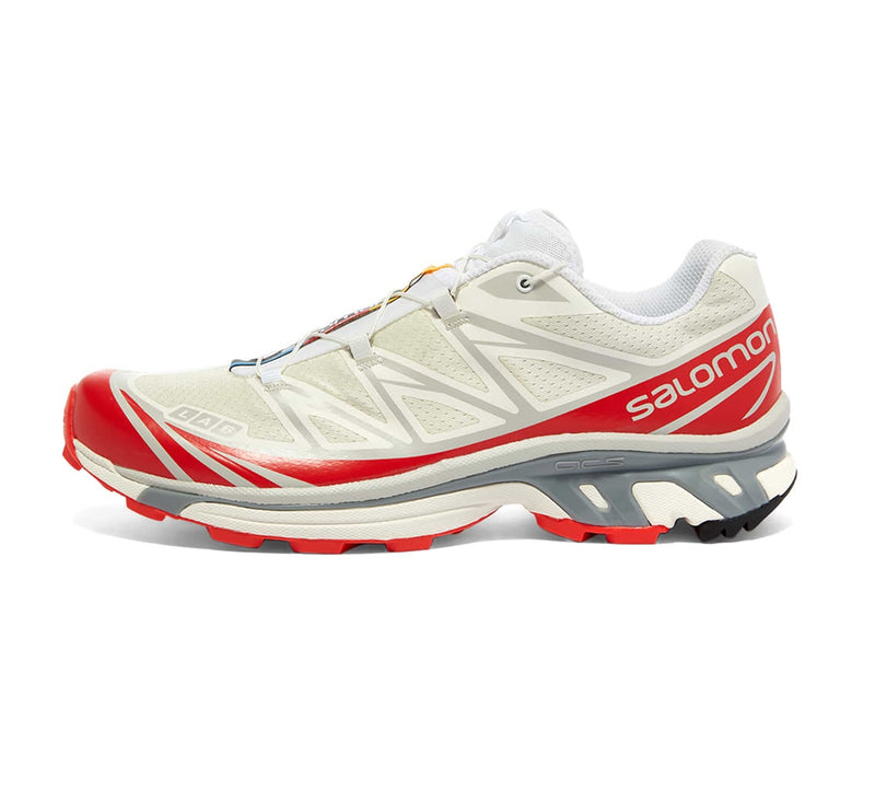 Salomon S/LAB XT-6 - VANILLA ICE/WHITE/RACING RED