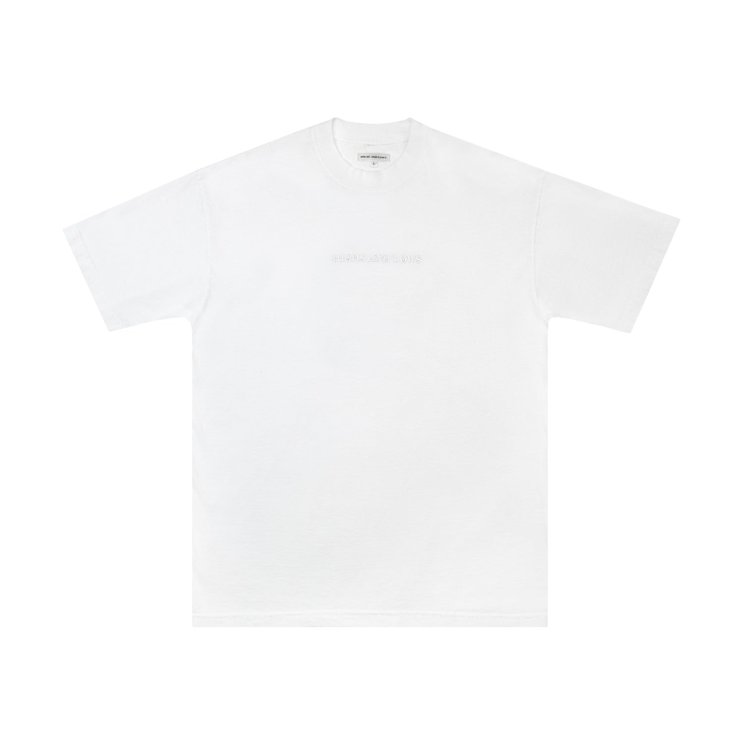 HAL SS20 Bar Logo T-Shirt - White