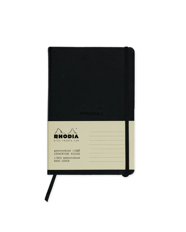 RHODIA Webnotebook Ruled A5 - Black