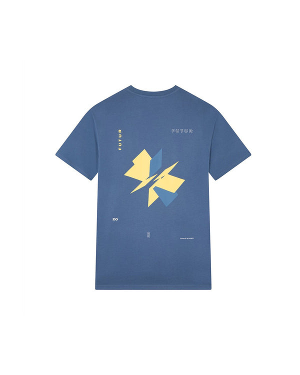 Futur Season 10 Dr Helix T-shirt - Steel Blue