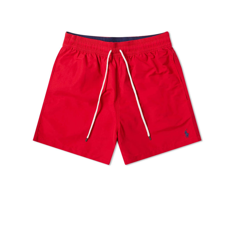 Polo Ralph Lauren Logo Swim Short - Red