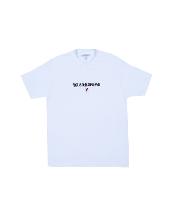 Pleasures Shine Embroidered T-Shirt - White