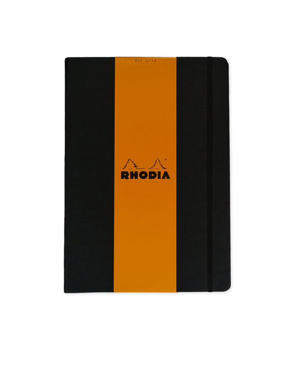 RHODIA Webnotebook Dot Grid A4 - Black