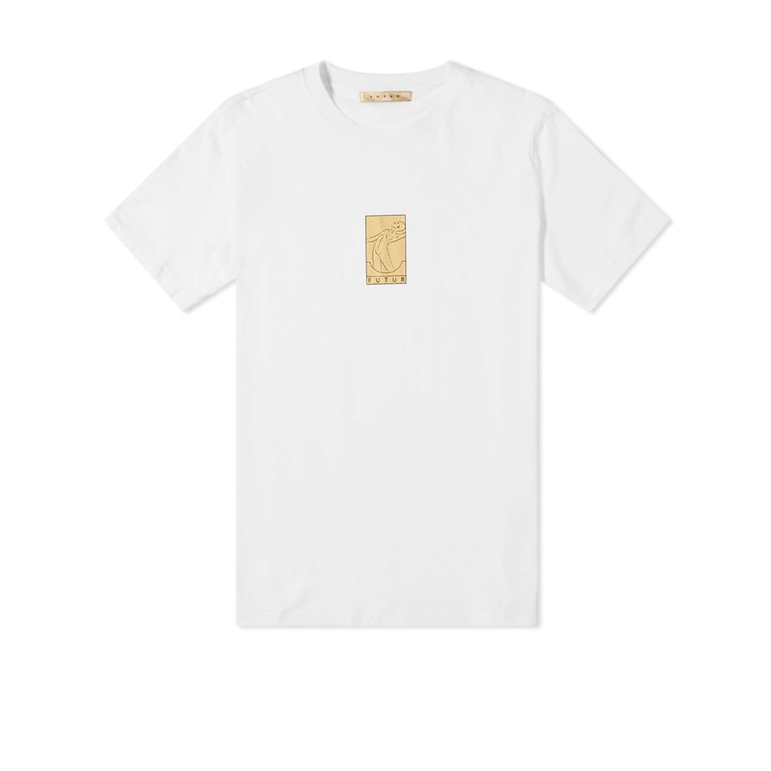 Futur Season 9 Gold Tee - White